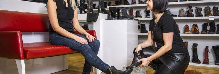 modèles de bottines choisir femmes enceintes